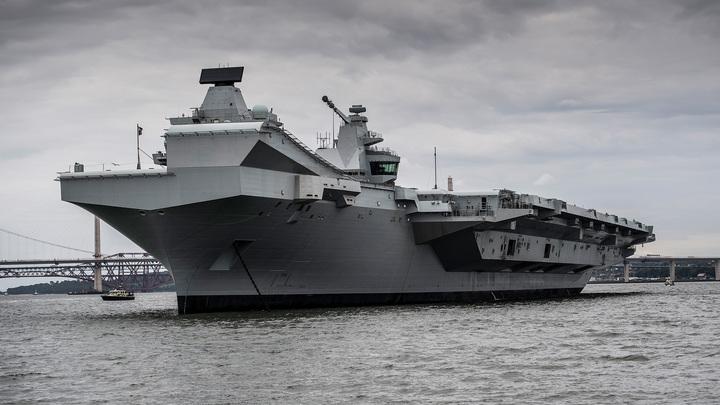 На борту флагмана Queen Elizabeth произошла вспышка ковида