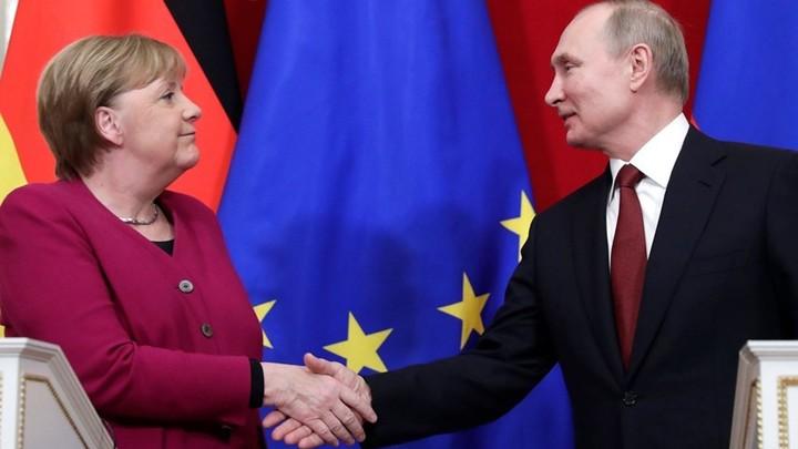 Путин и Меркель впервые проведут переговоры с начала пандемии