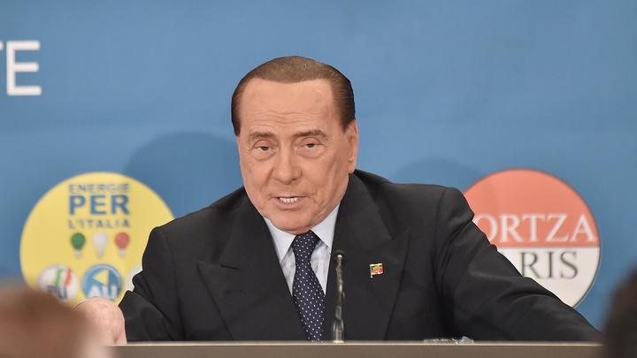 Берлускони госпитализирован в Монако