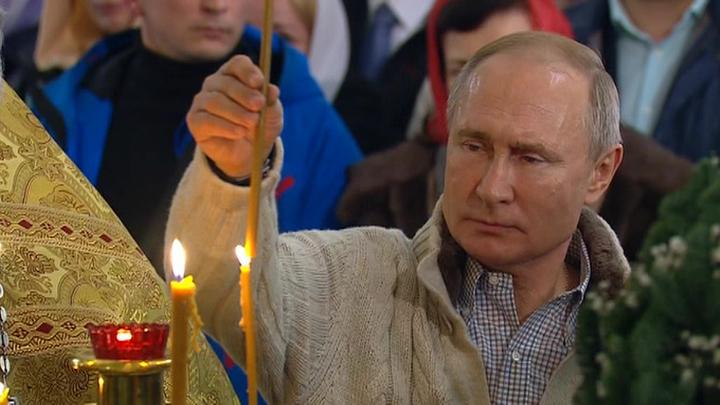 Путин встретит Пасху в церкви