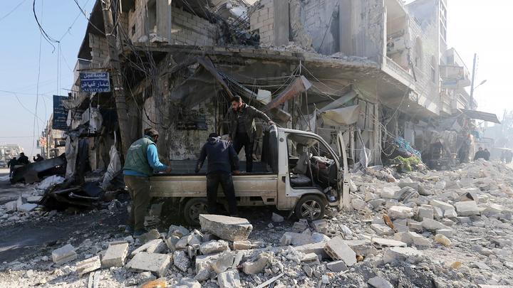 Ущерб, нанесенный Сирии войной, оценили в 4 миллиарда долларов
