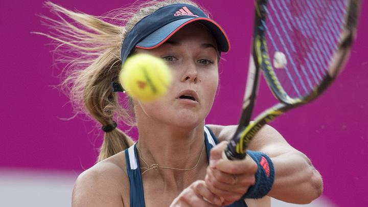Калинская завершила выступление на московском турнире WTA
