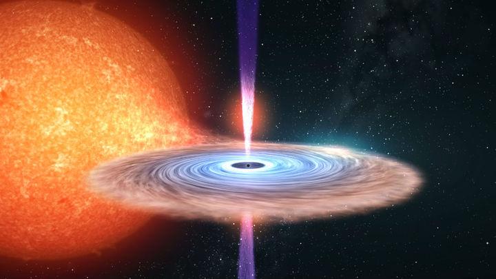 """Астрономы научились искать """"спящие"""" чёрные дыры"""