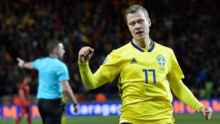 Виктор Классон остался в запасе на игру Швеция – Словакия
