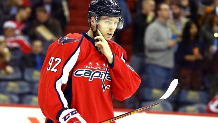 """Хоккеист """"Вашингтона"""" Кузнецов восстановился после травмы и готов сыграть с """"Бостоном"""""""
