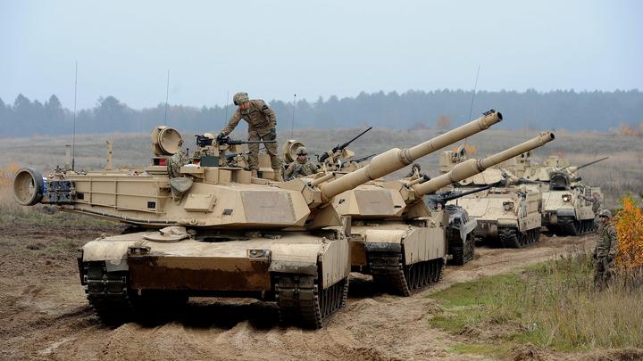 Польша пригрозила России американскими танками