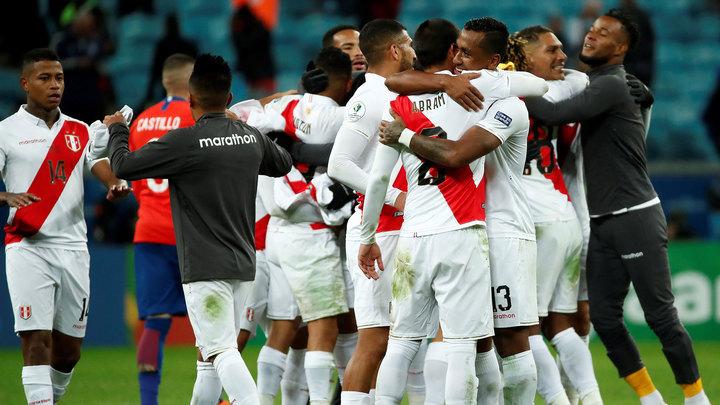Сборная Перу ушла от поражения в матче с командой Эквадора