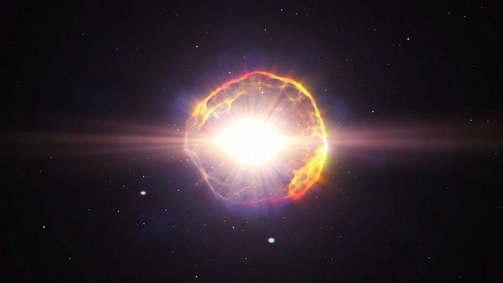 Астрономы впервые получили изображение выжившего спутника сверхновой