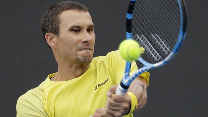 Россиянин Донской зачехлил ракетку на домашнем турнире