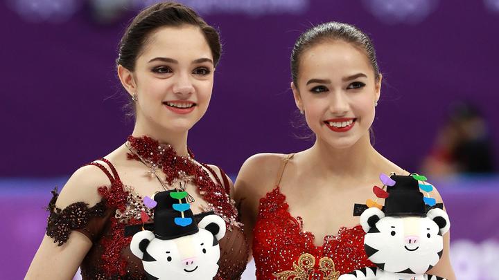 Загитова и Медведева будут капитанами на командном турнире в Москве