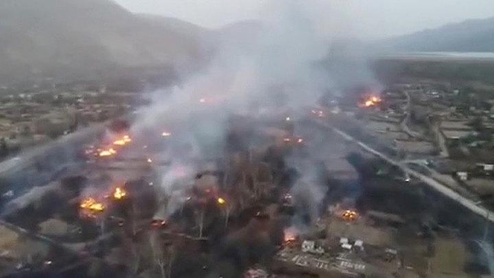 Дым от пожаров в Китае достиг Приморья