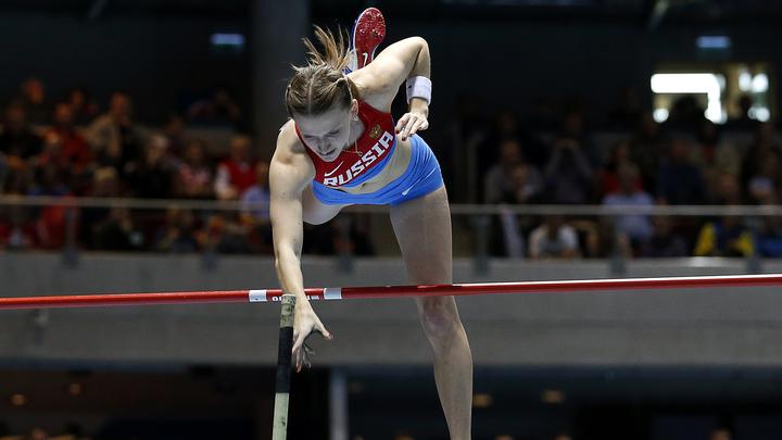 Анжелика Сидорова выиграла чемпионат России в прыжках с шестом