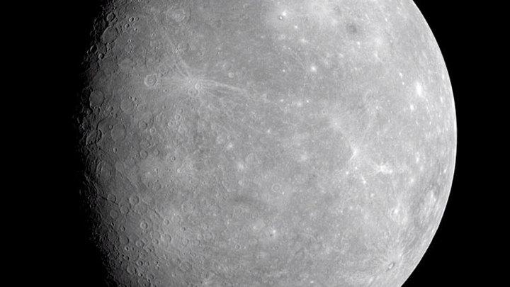 Первый снимок Меркурия получили с космического аппарата BepiColombo
