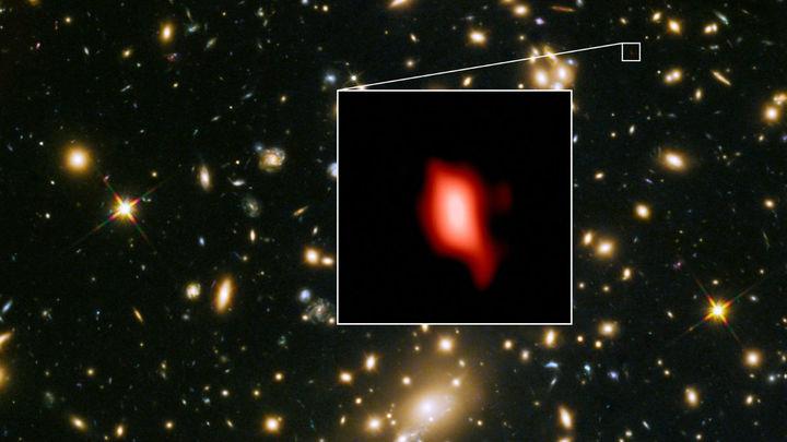 Древнейшая галактика удивила астрономов наличием кислорода