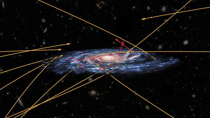 Орбитальный телескоп нашёл неожиданно много гостей из другой галактики