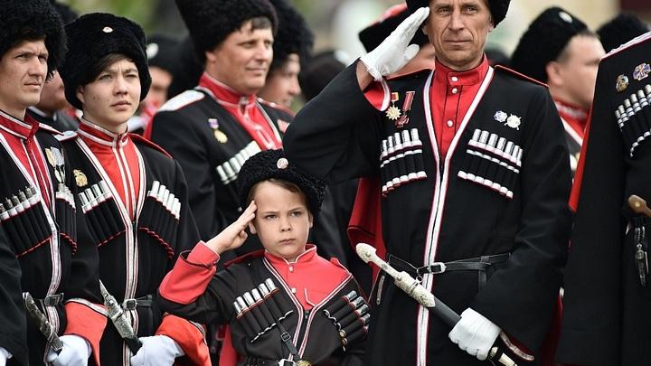Парад казаков: весенние традиции Кубани