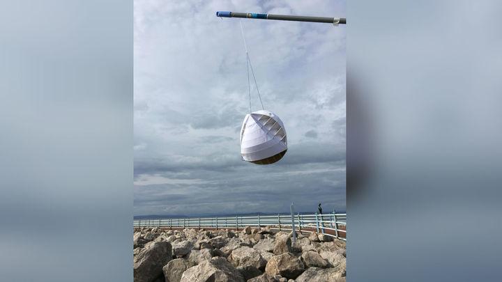 Новая турбина вращается при любом направлении ветра.