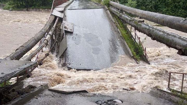 В Байкальске построили новый мост через реку Солзан