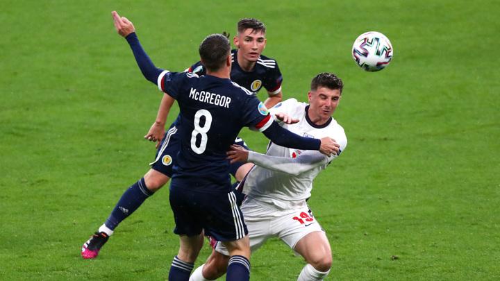 """Евро-2020. Англия – Шотландия – 0:0. Матч группы """"D"""""""