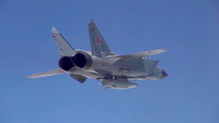 МиГ-31 поднимался в воздух для сопровождения самолета-разведчика ВВС США