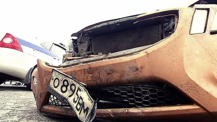 На МКАД столкнулись сразу пять машин