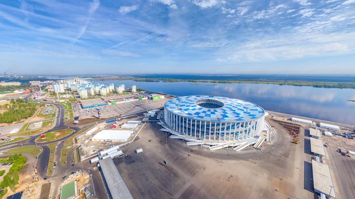 """Нижний Новгород. Стадион """"Нижний Новгород"""""""