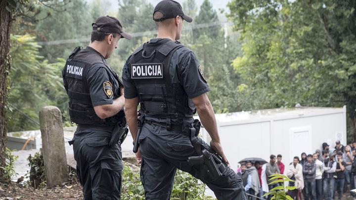 Мигранты подорвались на минном поле в Хорватии