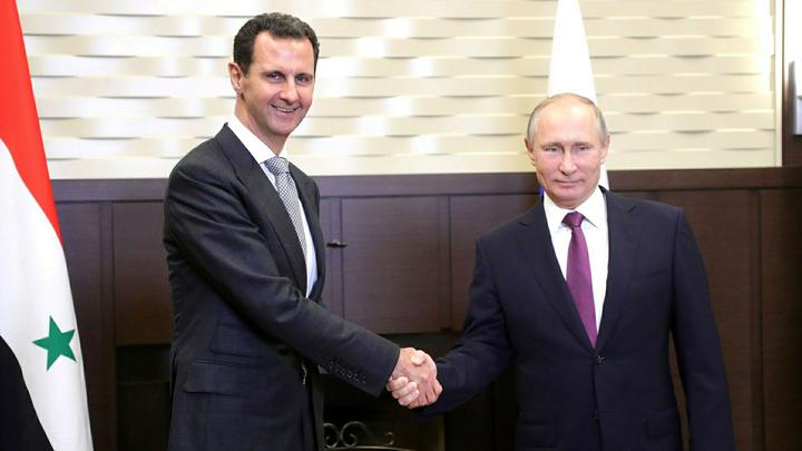 Визит Путина в Дамаск не стал неожиданностью для Асада