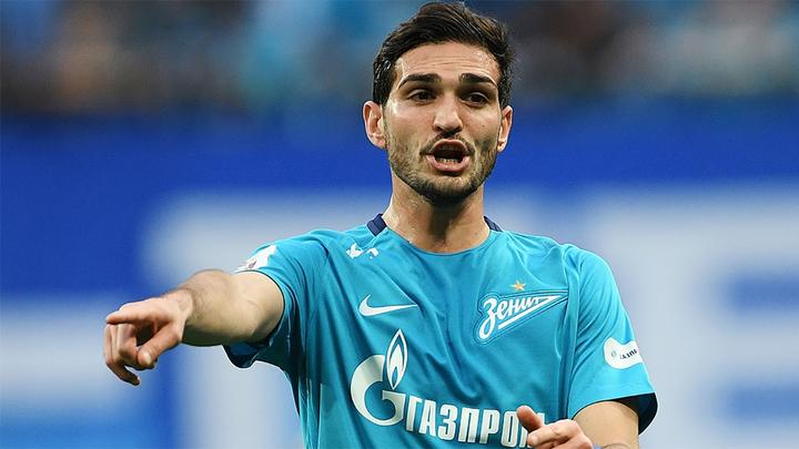 "Футболист ""Зенита"" Оздоев выбыл из строя на три месяца"