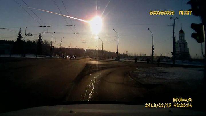 NASA показало, как взрывался и разрушался челябинский метеорит. Видео