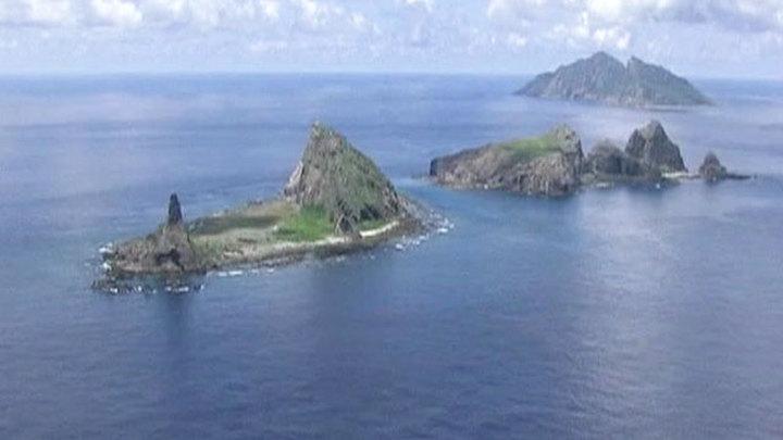 Пентагон: США готовы к защите спорных островов Сенкаку