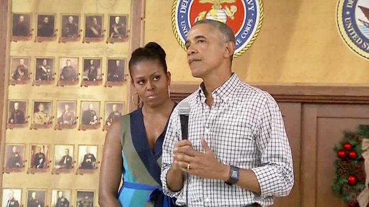 Обама пообещал, что его жена не будет президентом