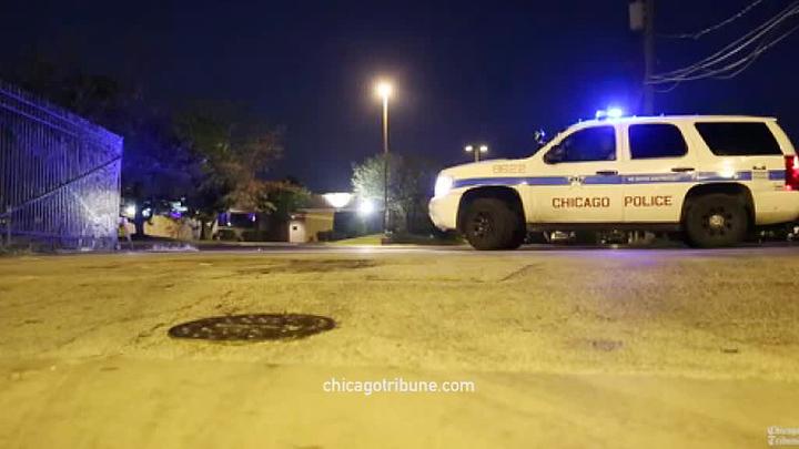 В Чикаго на улице расстреляли людей