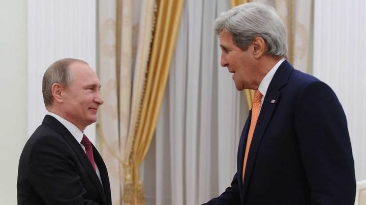 Путин и Керри констатировали общие интересы двух стран в сфере климата