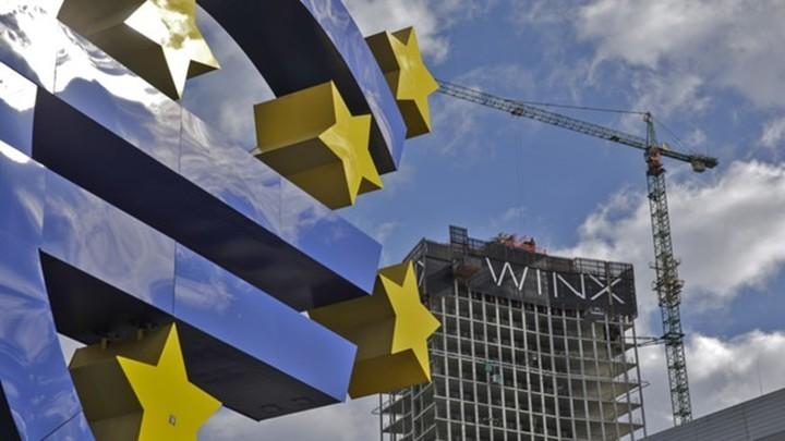 ВВП еврозоны рекордно упал