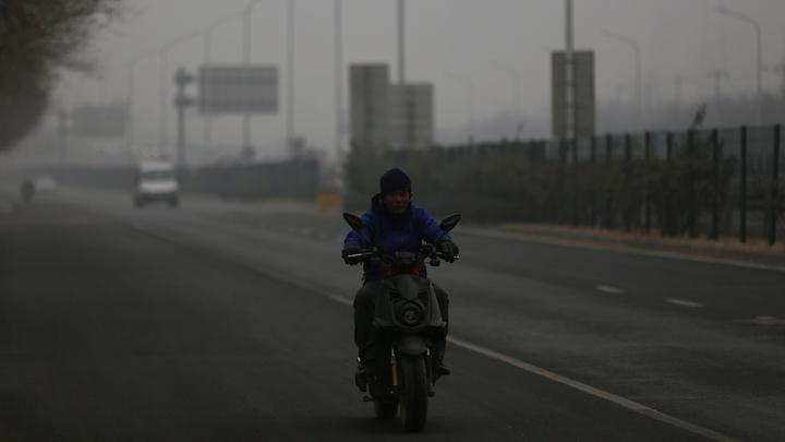 Пекин снова страдает от грязного воздуха