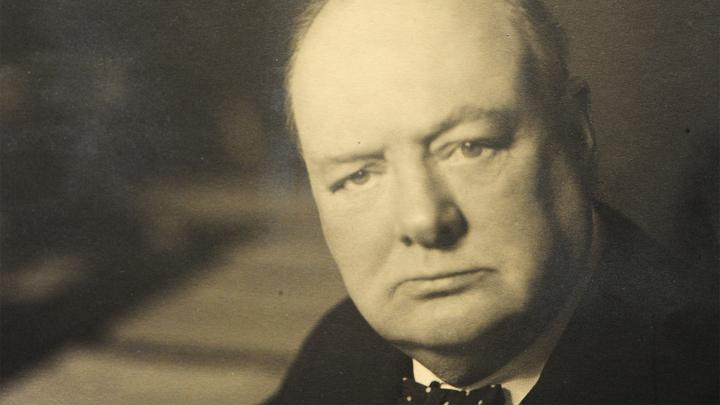 В США продали картину Черчилля