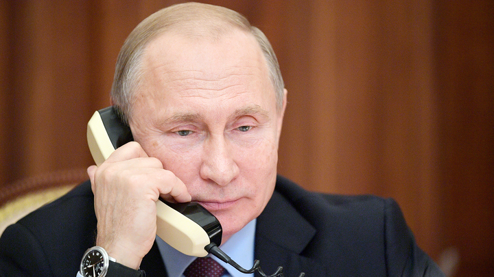 Путин поговорил по телефону с еще одним президентом