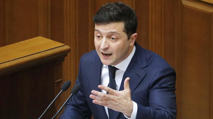 Рейтинг Зеленского  и его партии сильно понизился