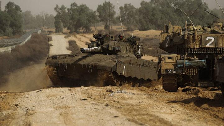 """Израильские танки выстрелили в сторону """"мятежников"""""""