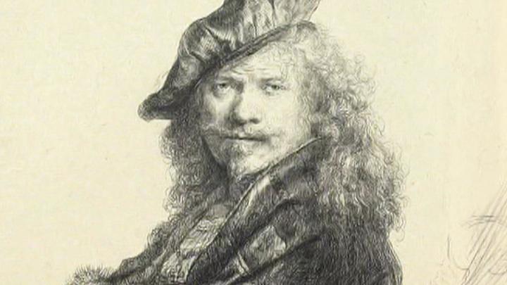 В Англии обнаружен автопортрет Рембрандта