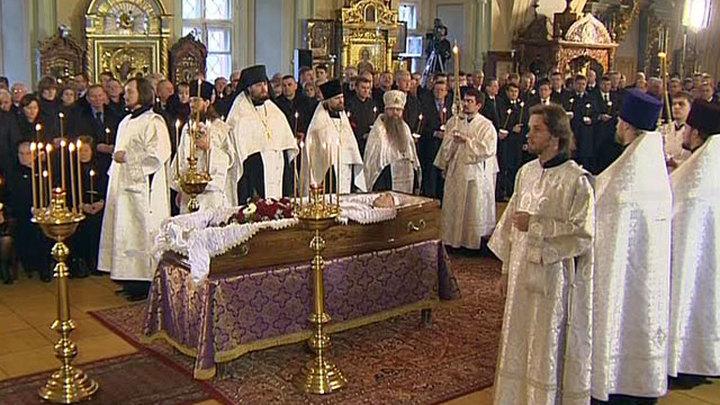 В Успенском соборе совершили отпевание Виктора Черномырдина