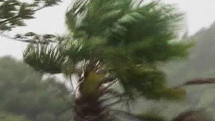 """Со стороны Тихого океана к Японии приближается тайфун """"Непартак"""""""