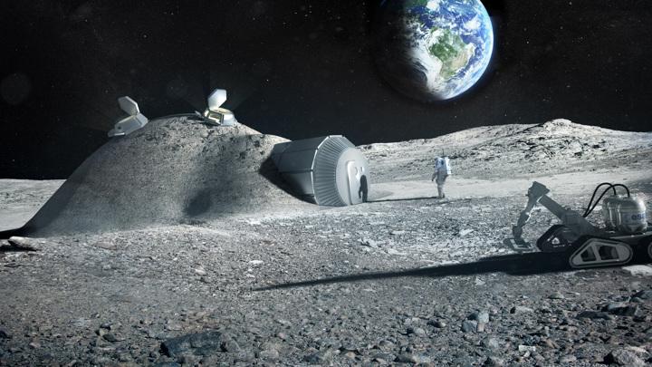 Мочевина может стать материалом, необходимым для строительства лунной базы.