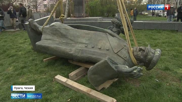 В России возбуждено уголовное дело из-за сноса памятника Коневу в Праге