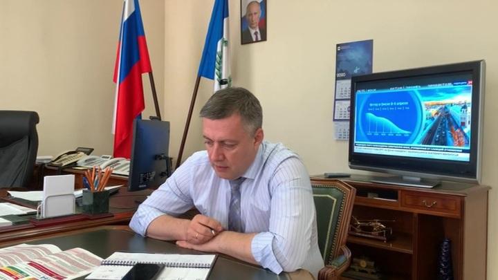 Иркутский губернатор Кобзев заразился коронавирусом