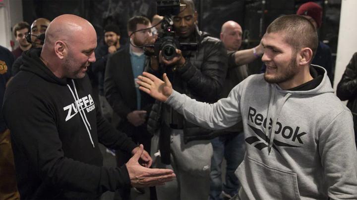 Глава UFC Уайт: Нурмагомедов официально завершил карьеру