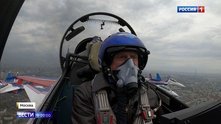 В воздушном параде 9 мая в России примут участие около 600 самолетов и вертолетов