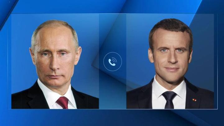 Лидеры России и Франции обсудили конфликт в Нагорном Карабахе