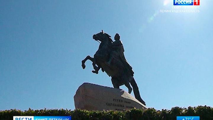 Памятник Петру I на Сенатской площади отреставрируют к юбилею императора